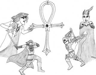 Battle of the Ankh by SMS00