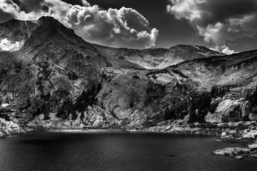 Shadowplay on Bluebird Lake by Ben754