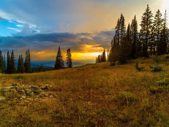 Sunset over Steamboat by Ben754