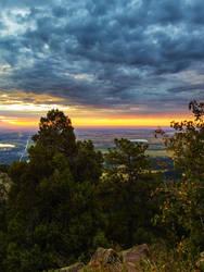 Green Mountain Sunrise by Ben754