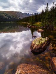 Long Lake Shoreline by Ben754