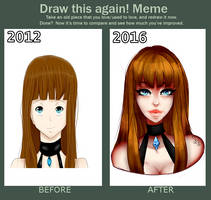 Before and after meme by Delynor