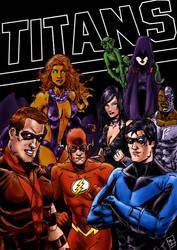 Titans by RamonVillalobos