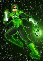 Hal Jordan by RamonVillalobos
