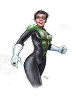 Green Lantern Thursday- 1 by RamonVillalobos