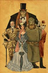 The Bloomsbury Quintet by RamonVillalobos
