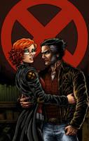Wolverine+Jean Commission by RamonVillalobos