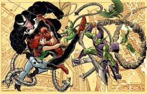 Spiderman Jam by RamonVillalobos