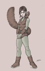Squirrel Girl by RamonVillalobos