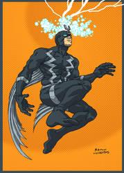 Black Bolt by RamonVillalobos