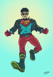 Don't Call him Superboy by RamonVillalobos