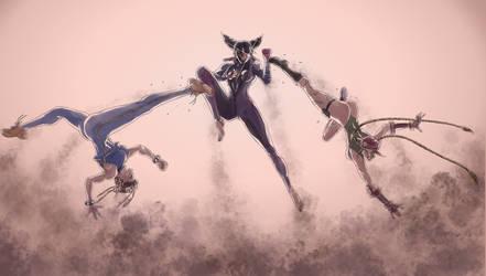 Fight! Full Color by skriber