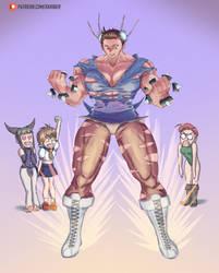 Beefcake Chunners Power up! by skriber