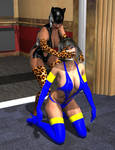 Panther Girl attacks 2 by member9