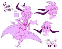 .: Purple Spinel :. by MissFemke