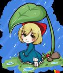 It's raining, little bel by VodkaaKola
