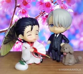 That AU where yuuri is an Omega geisha by VodkaaKola