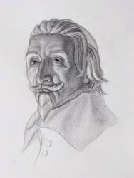 sketch - Bernini: Richelieu by jm78