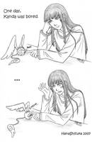DGM: Bored Kanda by HanaShizuka