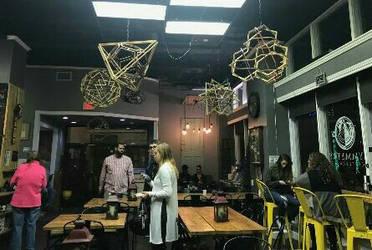 Geometric Sculpture in Symmetry Coffee Ocala FL by RNDmodels
