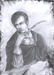 Lord Byron 1788-1824 by lorenpb
