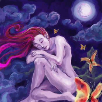 Moon's daugther by lorenpb