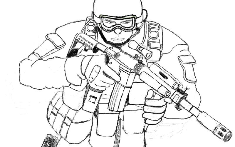 Dragon Paintball Gun