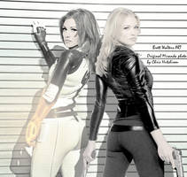 Miranda  Lawson + Sarah Walker by GeekTruth64