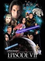 Star Wars Episode VII Poster by GeekTruth64