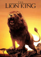 Lion King Live Action Movie Poster by GeekTruth64
