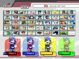 My Ideal SSBB Roster by simayiboy
