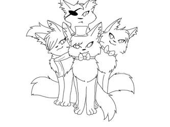 warrior cats as fnaf by BreezyBunny