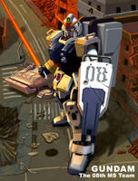 GUNDAM The 08th MS Team by wingwingwingwing