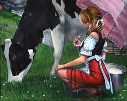 milk girl by wingwingwingwing