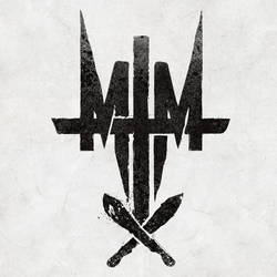 Man The Machetes Cross icon logo by BalefireArt