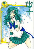 Sailor Neptune by SoundNinjaKin