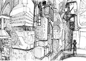 Cyberpunk Skylines 1 by Phenix1080