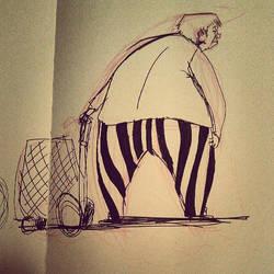 Doodle : Clown Pants by BrieSpiel