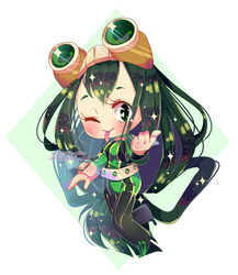 [BNHA FT] Froppy by Sol-play