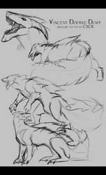 Vincent Sketch Dump by CXCR