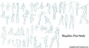 Megalinx Pose Study by MegaLinx