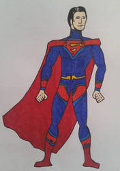 Superman Redesign by FaceThumb