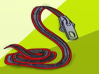 ZipperSnake by austin-dern