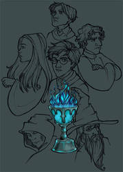 HP and the Goblet of Butane by moderate-mind