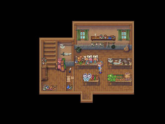 Shop in Arkadya by BadLuck765