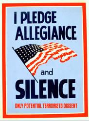Allegiance Means Silence by poasterchild