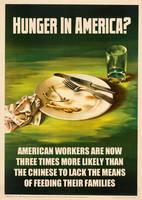Hunger In America? by poasterchild