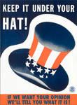 Keep It Under Your Hat by poasterchild