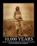 10,000 Years by poasterchild