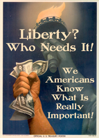 Liberty? Who Needs It! by poasterchild